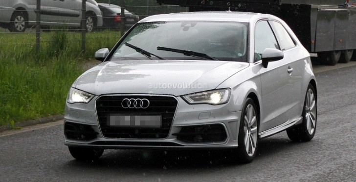 Spyshots: 2014 Audi S3 Completely Revealed