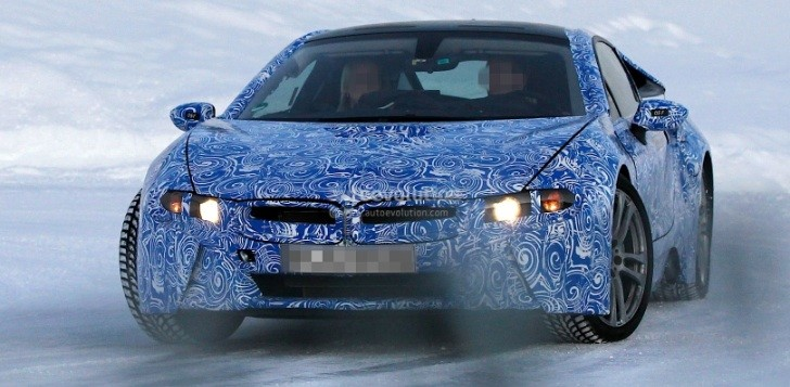 Spyshots: 2014 BMW i8 Looks Awesome