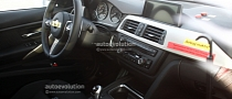 Spyshots: 2014 BMW M3 Interior Revealed