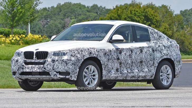 Spyshots: 2014 BMW X4 Spotted in Production Form