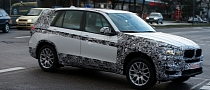 Spyshots: 2014 F15 BMW X5 Drops Some Camo