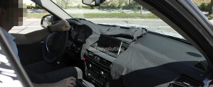 Spyshots: 2014 F15 BMW X5 with Interior Photos
