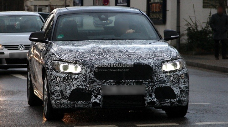 Spyshots: 2014 F22 BMW 2-Series Coupe