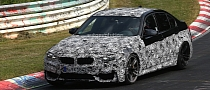 Spyshots: 2014 F80 BMW M3 on the Nurburgring
