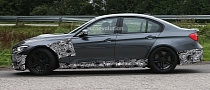 Spyshots: 2014 F80 BMW M3 Sedan With Minimal Camo