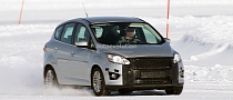 Spyshots: 2014 Ford C-MAX Getting Aston Martin Facelift