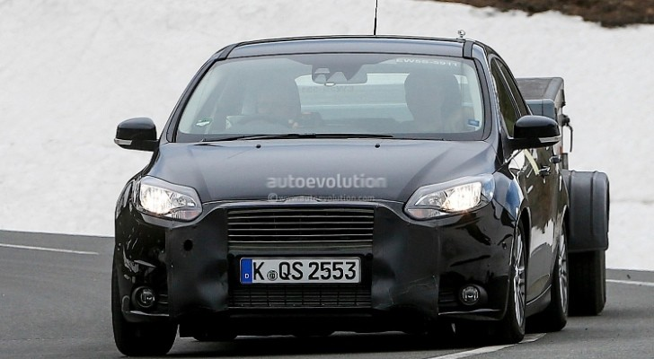 Spyshots: 2014 Ford Focus Facelift