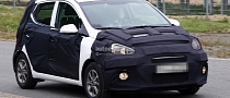 Spyshots: 2014 Hyundai i10 First Photos