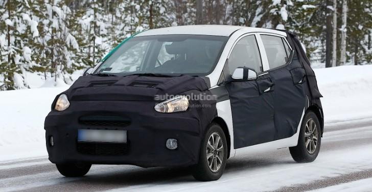 "Spyshots: 2014 Hyundai i10 to Be Called ""Brilliant"""