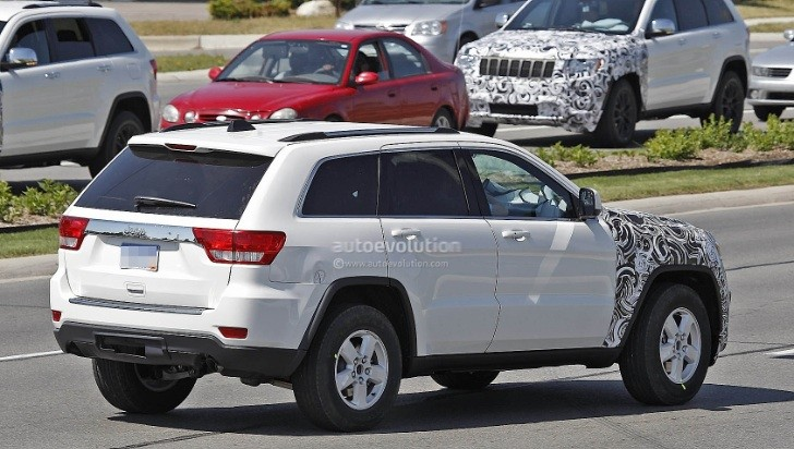 Spyshots: 2014 Jeep Grand Cherokee Facelift