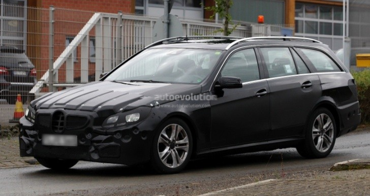Spyshots: 2014 Mercedes Benz E-Class Estate