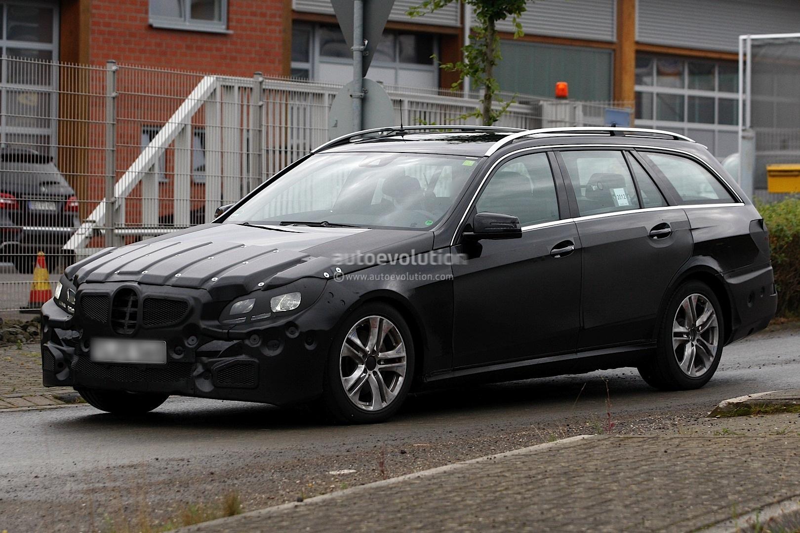 Spyshots 2014 mercedes benz e class estate autoevolution for New mercedes benz e class 2014