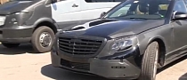 Spyshots: 2014 Mercedes-Benz S-Class Spotted in Colorado [Video]