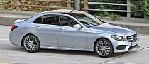 Spyshots: 2014 Mercedes C-Class Reveals Its New Design