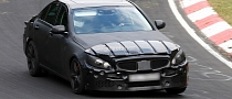 Spyshots: 2014 Mercedes C63 AMG Spotted, Could Be Called C55