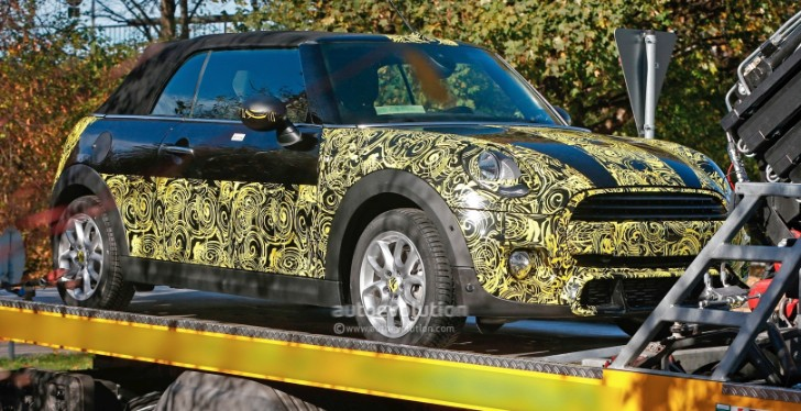Spyshots: 2014 MINI Cooper S Convertible Spied Again
