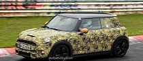 Spyshots: 2014 MINI Cooper S Testing at the Nurburgring