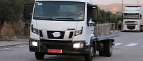 Spyshots: 2014 Nissan Cabstar Caught Almost Undisguised