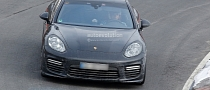 Spyshots: 2014 Porsche Panamera Undisguised at Nurburgring [Video]