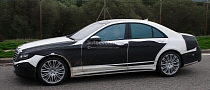 Spyshots: 2014 S-Class Set to Become Next Halo