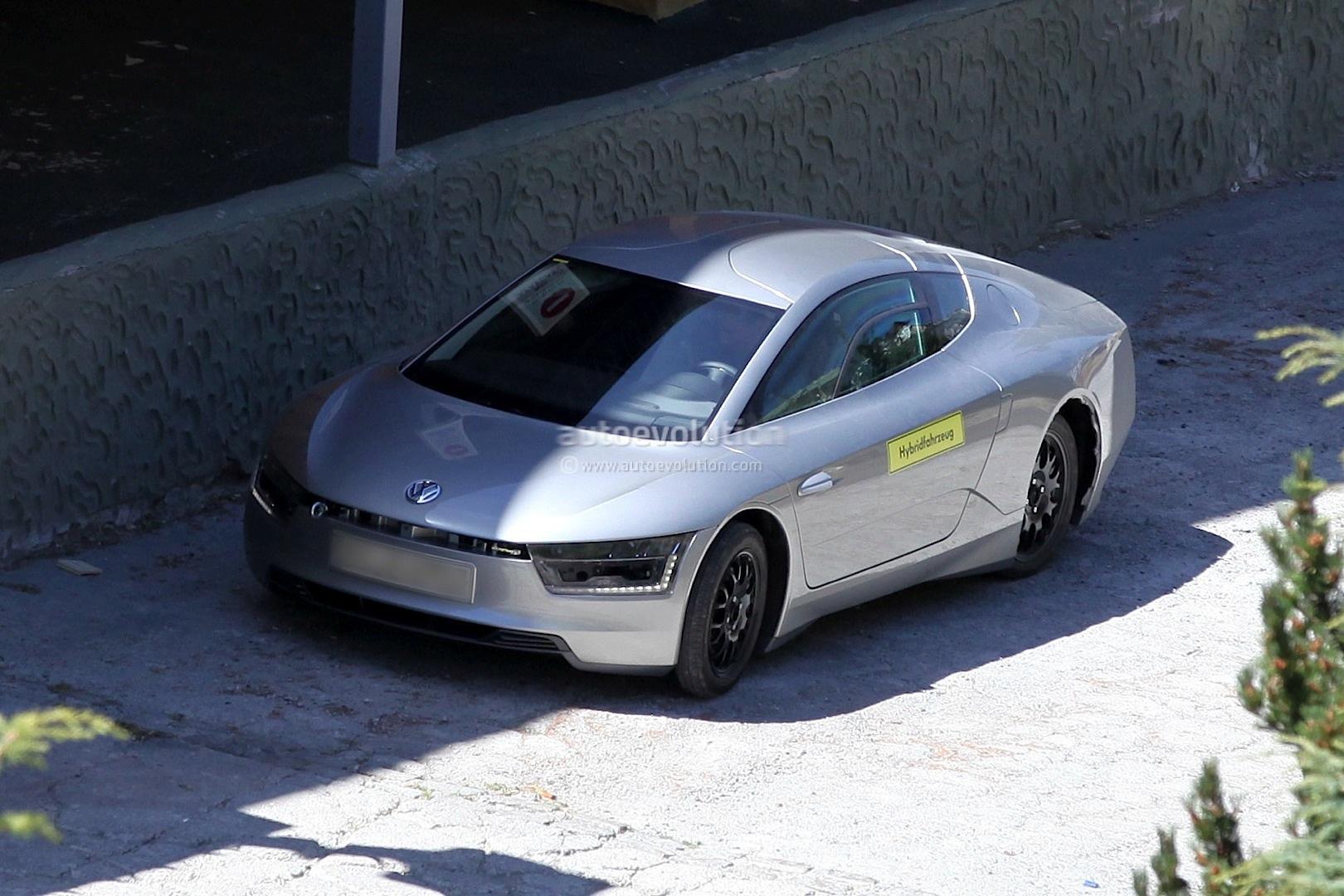 spyshots 2014 volkswagen xl1 autoevolution. Black Bedroom Furniture Sets. Home Design Ideas
