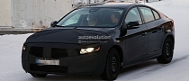 Spyshots: 2014 Volvo S60 Facelift Gets Interior Update