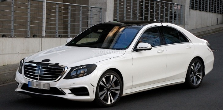 Spyshots: 2014 W222 Mercedes-Benz S-Class Almost Undisguised