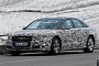 Spyshots: 2015 Audi A8 Facelift Coming