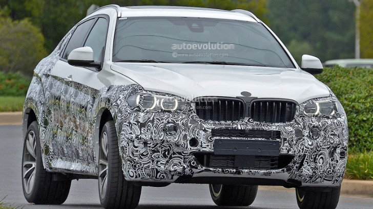Spyshots: 2015 BMW F16 X6 Caught Testing for the First Time