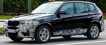 Spyshots: 2015 BMW X3 Facelift Has New Headlights