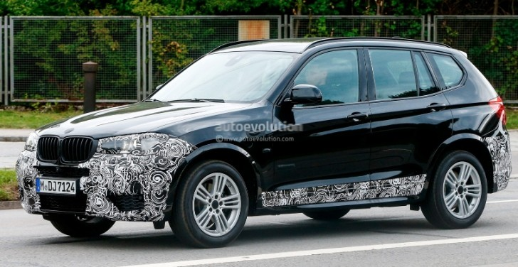Spyshots: 2015 BMW X3 Facelift Has New Headlights
