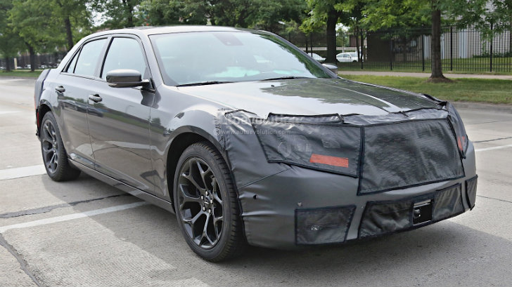 spyshots 2015 chrysler 300 autoevolution. Black Bedroom Furniture Sets. Home Design Ideas