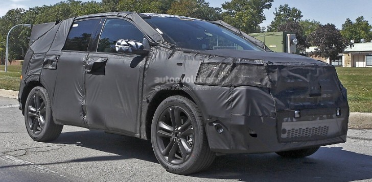 Spyshots: 2015 Ford Edge