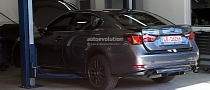 Spyshots: 2015 Lexus GS F Performance Sedan