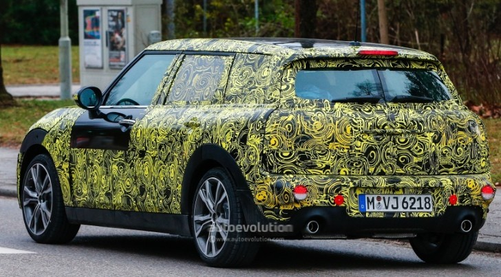 spyshots 2015 mini clubman mpv gets production ready. Black Bedroom Furniture Sets. Home Design Ideas