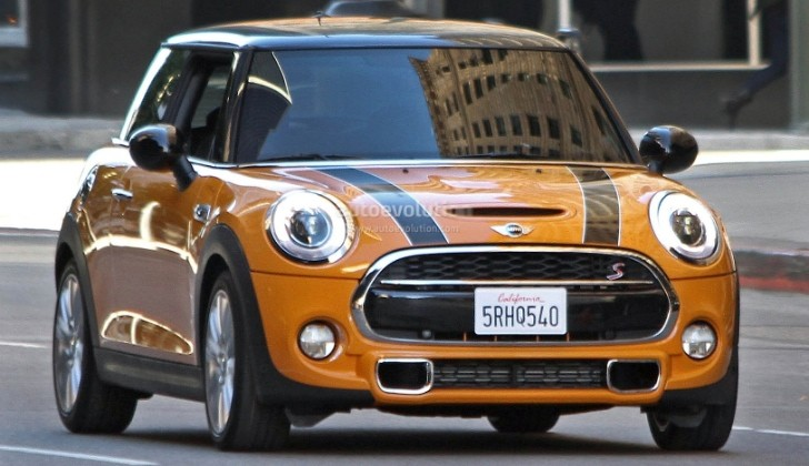 Spyshots: 2015 MINI Cooper S Fully Revealed