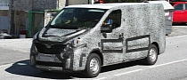 Spyshots: 2015 Renault Traffic Fully Disguised