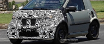 Spyshots: 2015 smart fortwo Testing with Production Fascia