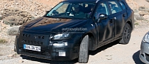 Spyshots: 2015 Subaru Legacy Spotted in Europe