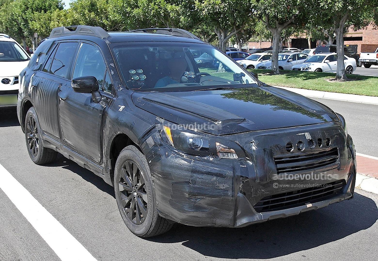 Spyshots: 2015 Subaru Outback