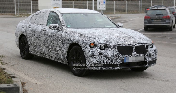 Spyshots: 2016 BMW G11 7 Series