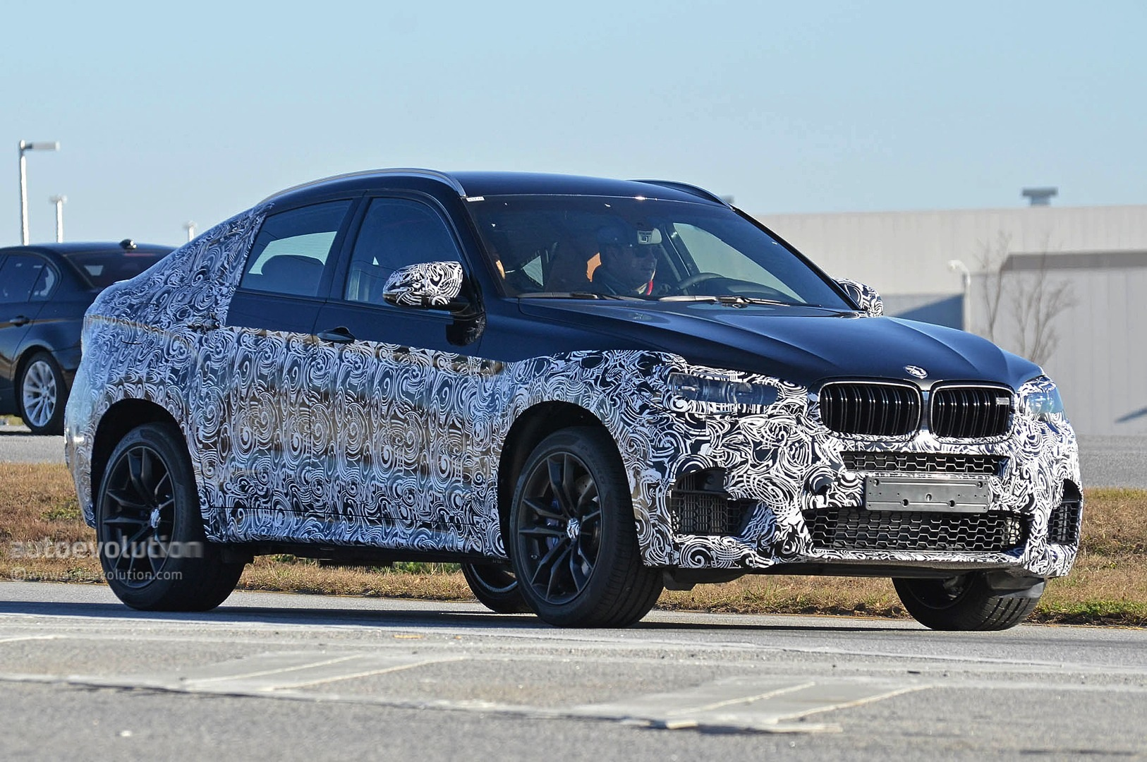 spyshots 2016 bmw x6 m autoevolution. Black Bedroom Furniture Sets. Home Design Ideas
