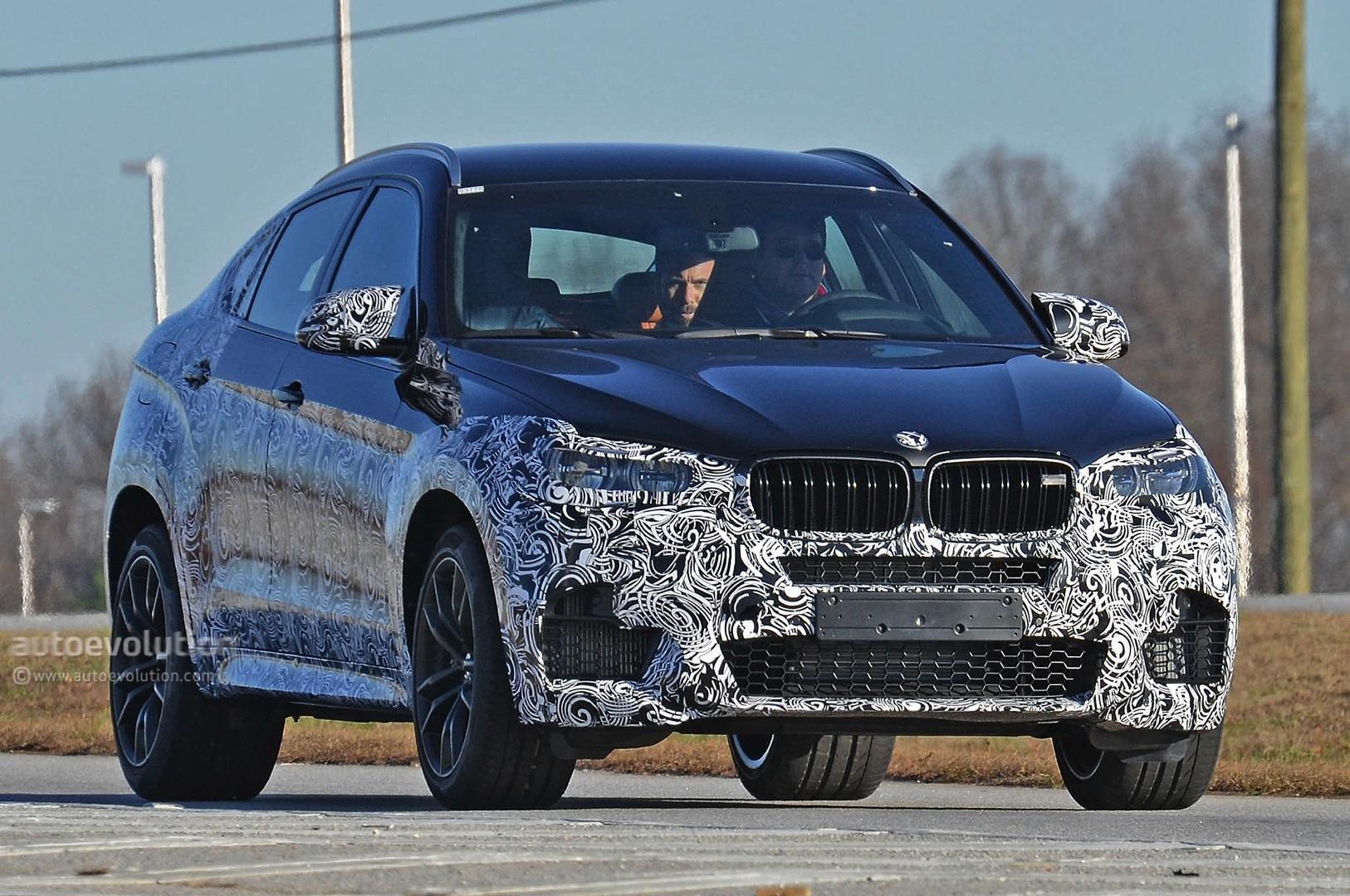 ... Spyshots: 2016 BMW X6 M ...