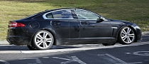 Spyshots: 2016 Jaguar XS Entry Sedan Track Testing