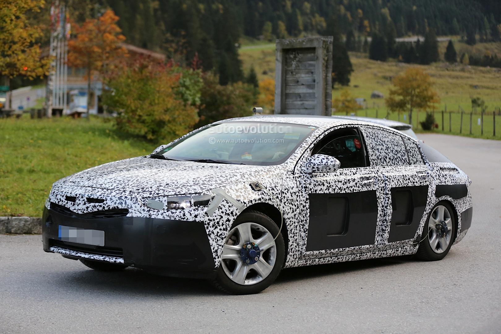 Spy Shots 2017 Opel Insignia