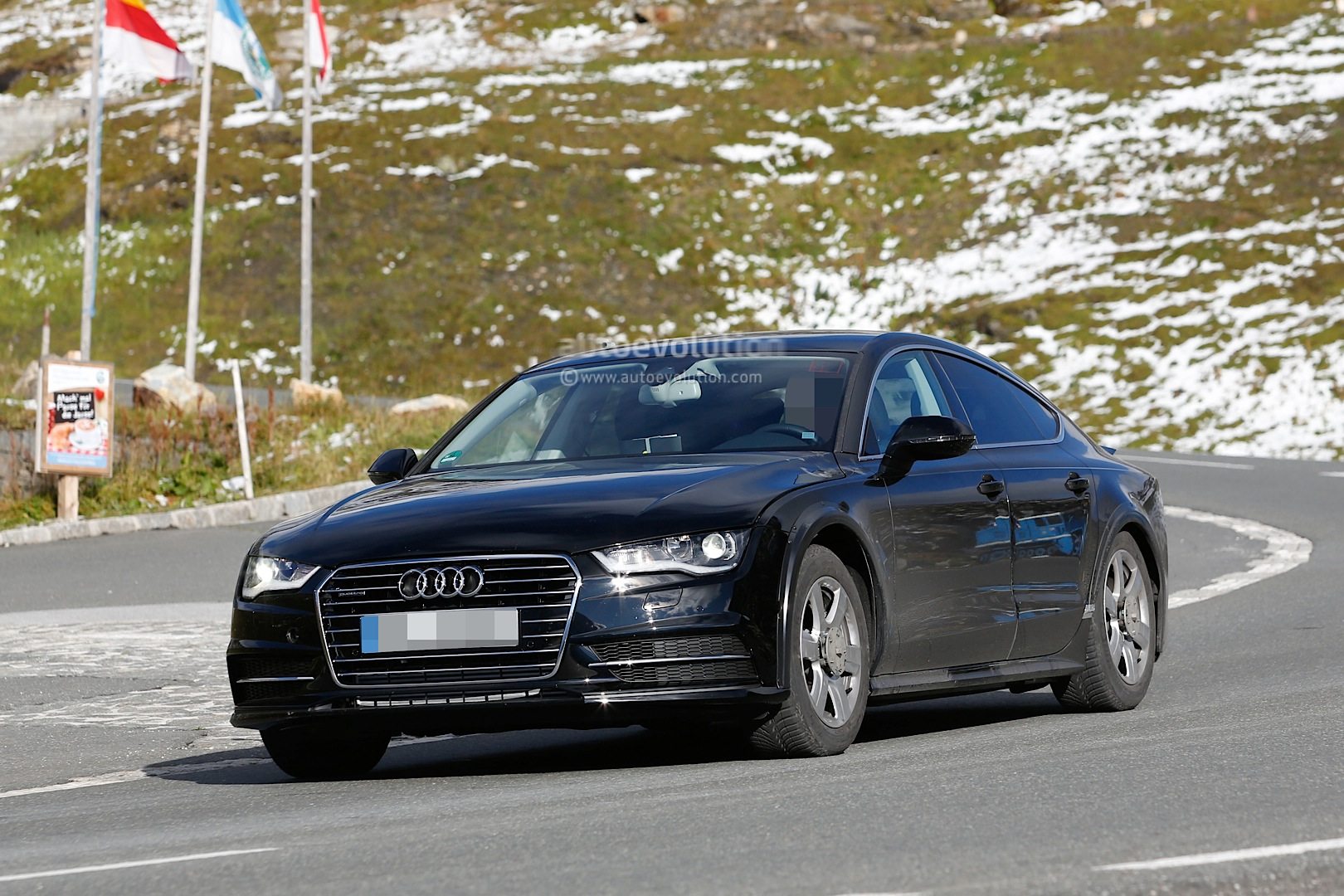 Spyshots: 2018 Audi A7 Chassis Testing Mule Seen for the ...