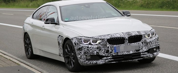 Spyshots 2018 BMW 4 Series Gran Coupe Facelift Has 7 Headlights