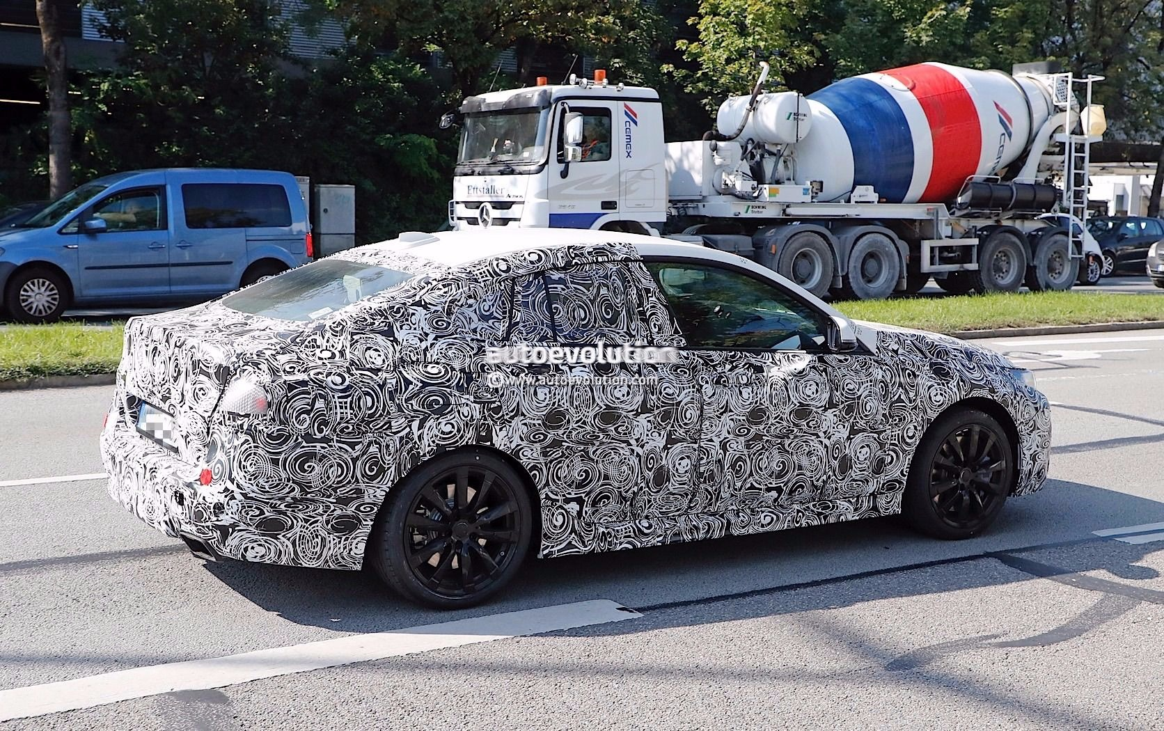 First spy shots of the BMW 2 Series Gran Coupe