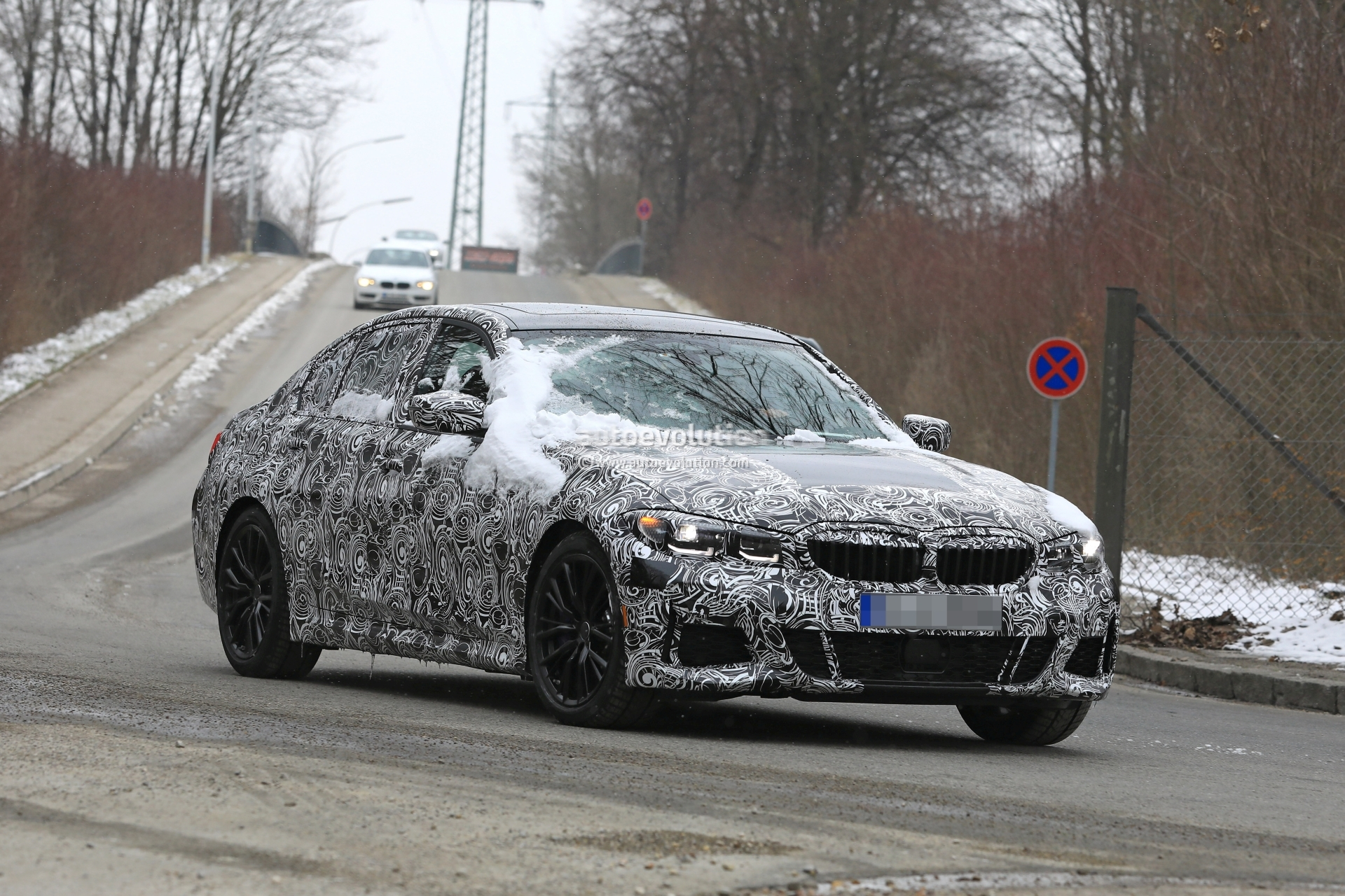 Spy Shots BMW 3 Series Model