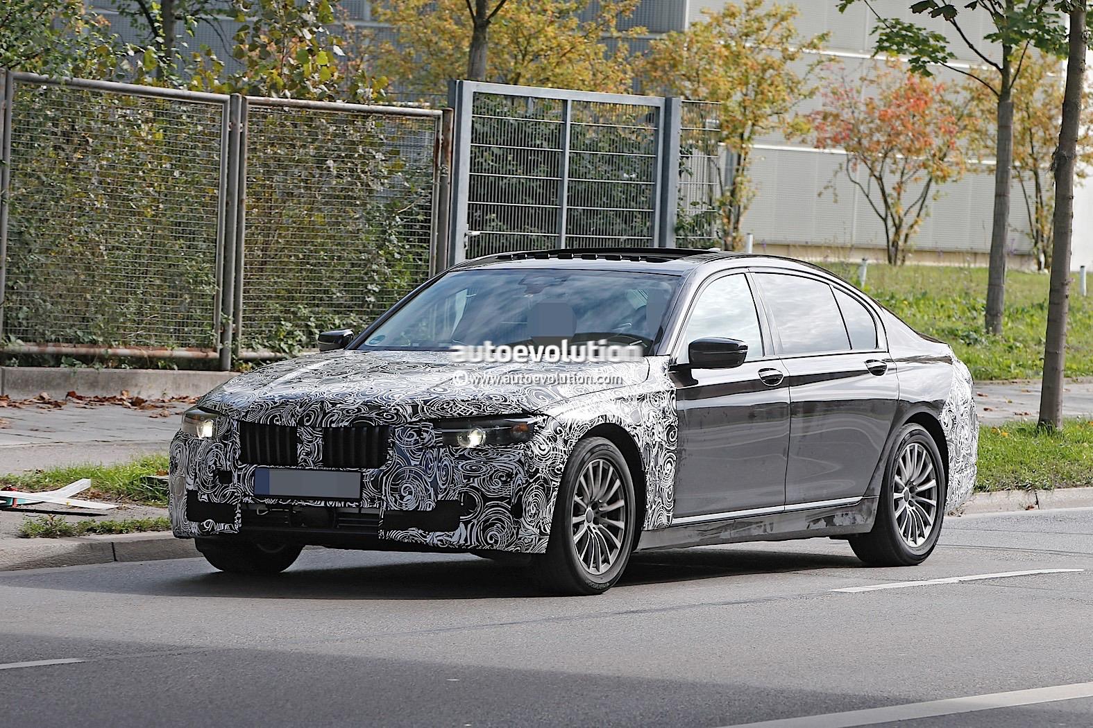 Spyshots 2019 BMW 7 Series LCI To Get Major Styling Refresh
